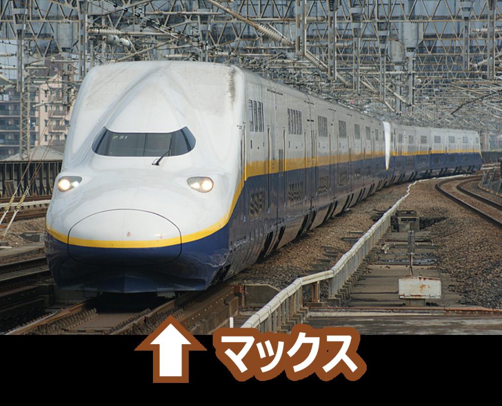 新幹線マックス